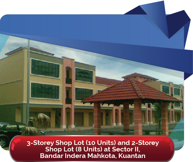 Shop Lot at Sector II Bandar Indera Mahkota Kuantan 01